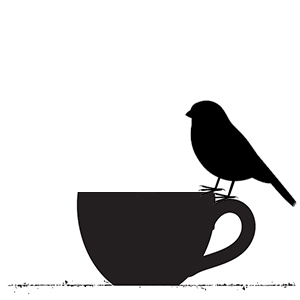 cup and bird