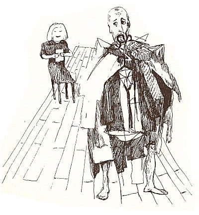 Illustration from theatrical minutes